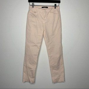 J BRANDKailee Solid Cotton-blend Cropped Pants